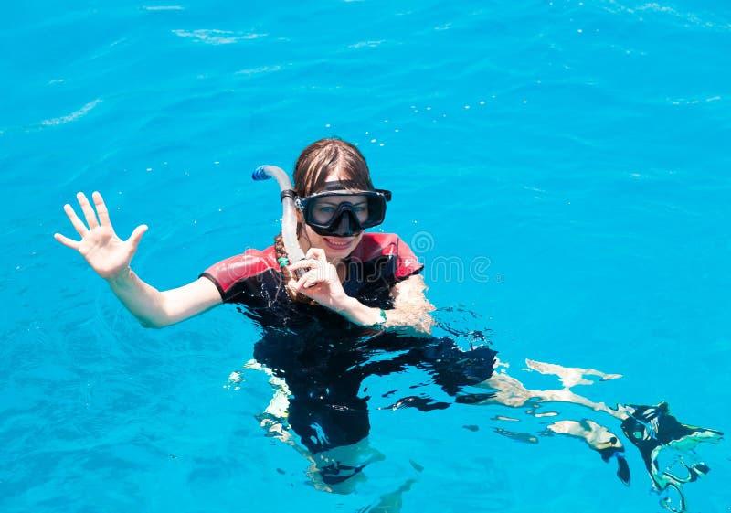 Египет День Красного Моря, ныряя стоковое фото rf