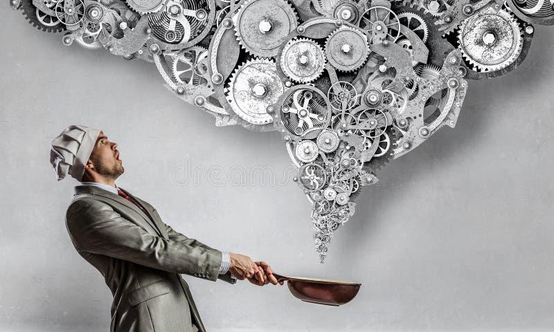 Download Его рецепт успеха Мультимедиа Стоковое Изображение - изображение насчитывающей конкуренция, механизм: 81808451