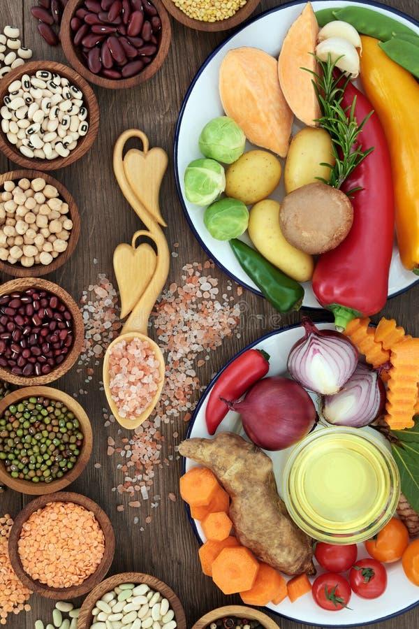 Еда для здоровья и благополучия стоковое изображение rf