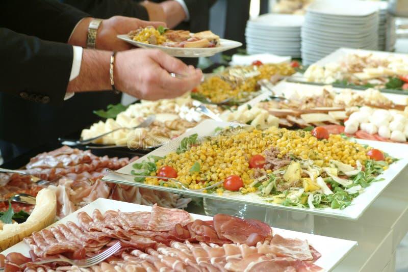 еда доставки с обслуживанием стоковые фотографии rf