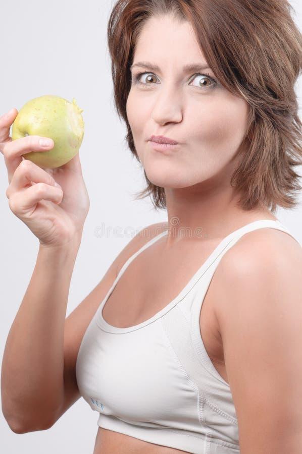 еда женщины стоковое фото rf