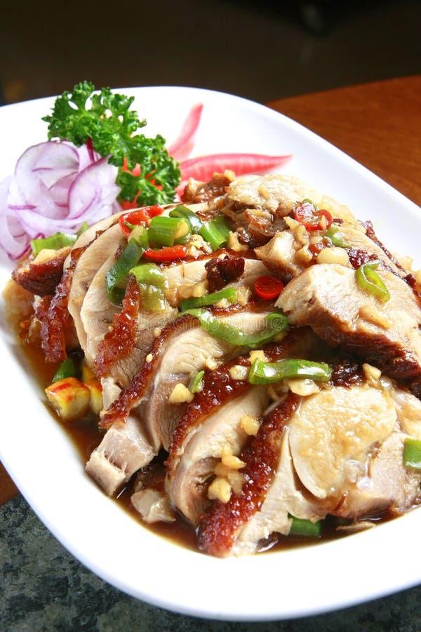 еда китайца цыпленка стоковая фотография rf