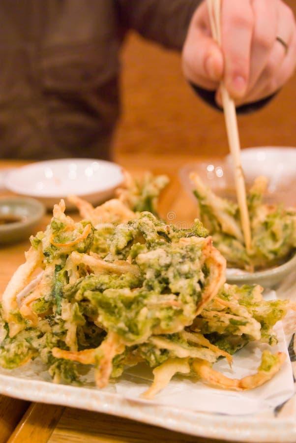 еда овоща tempura стоковая фотография rf
