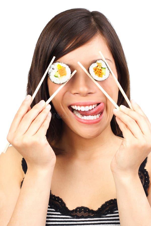 еда смешная здоровой стоковое изображение rf