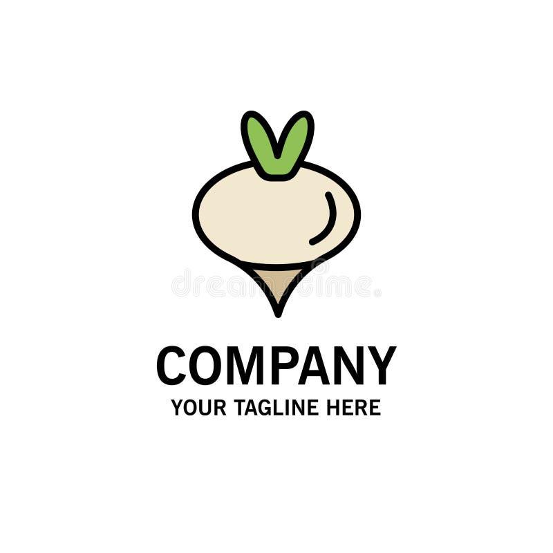 Еда, турнепс, овощ, шаблон логотипа дела весны r бесплатная иллюстрация