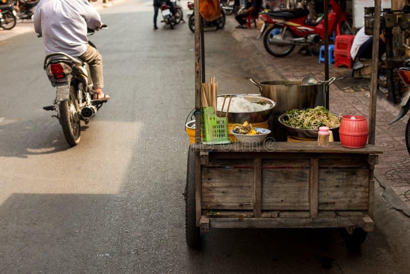 Еда улицы стоковое изображение rf