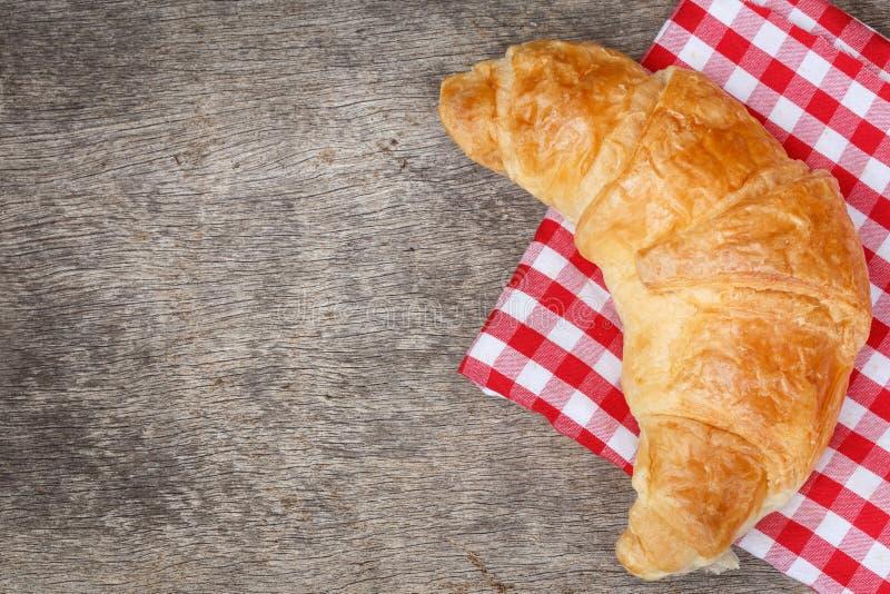 Еда хлеба круассана стоковые изображения rf