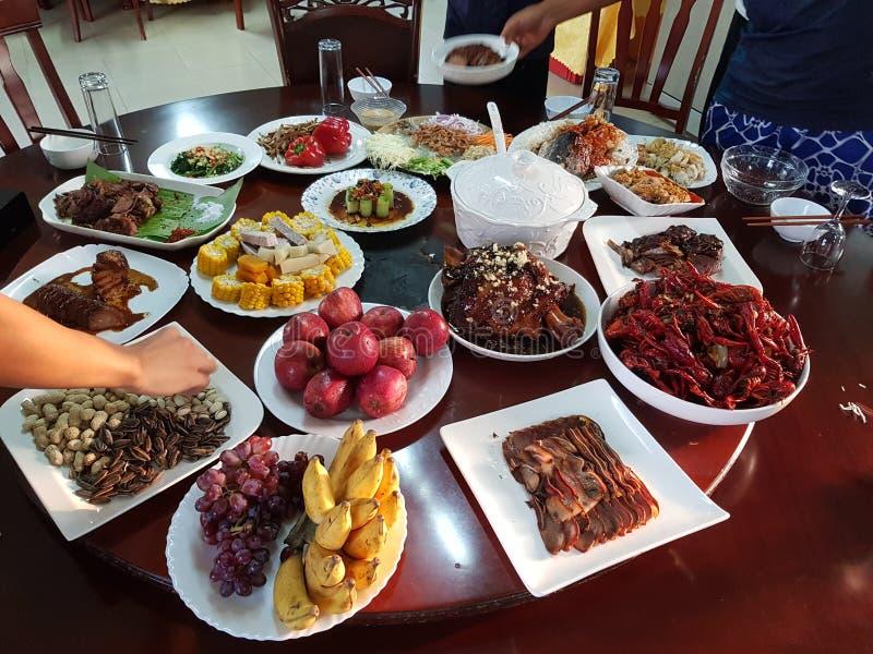 Еда Шаньдуна китайца традиционная стоковое изображение