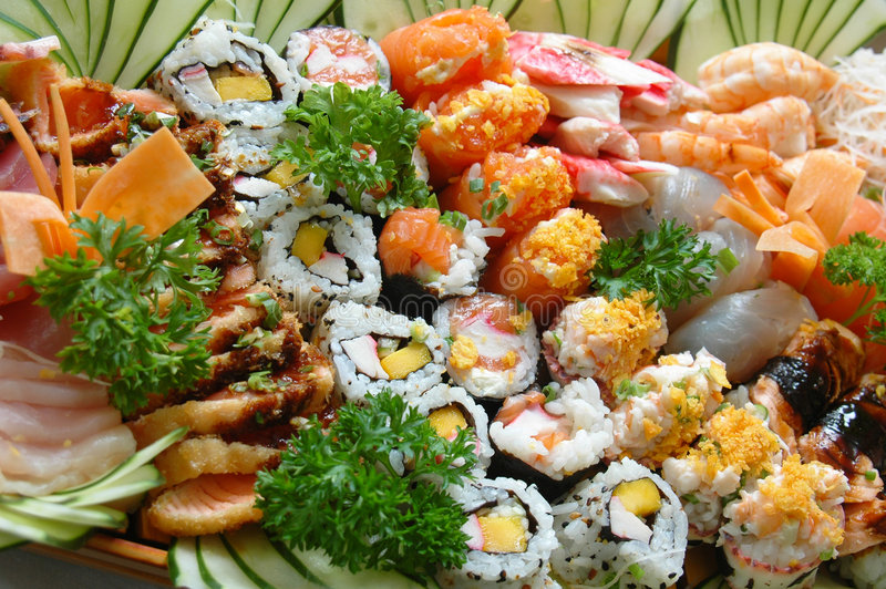 еда japonese стоковая фотография