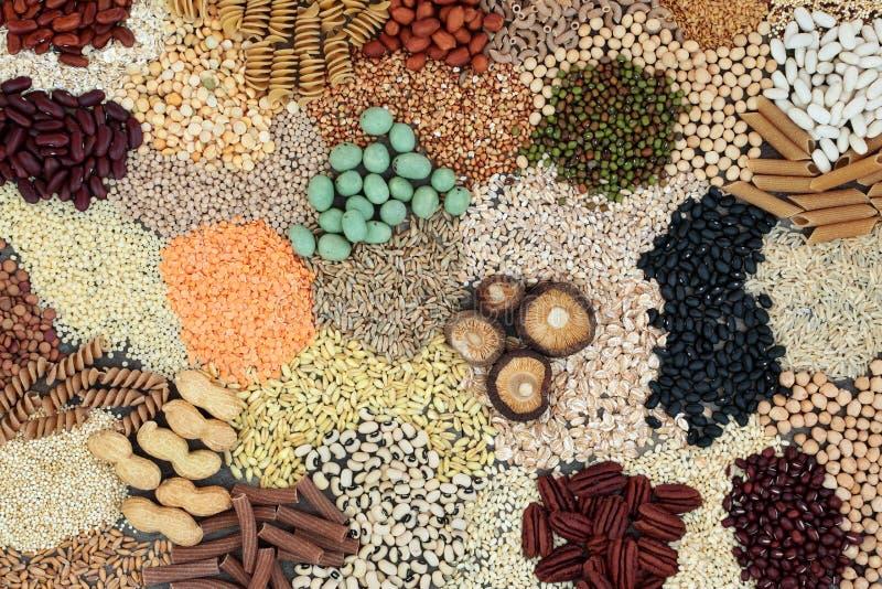 Еда Macrobiotic диеты стоковые фотографии rf
