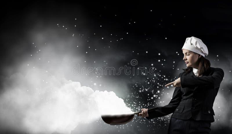 Download Ее рецепт успеха Мультимедиа Стоковое Изображение - изображение насчитывающей adulteration, коммерсантка: 81808367
