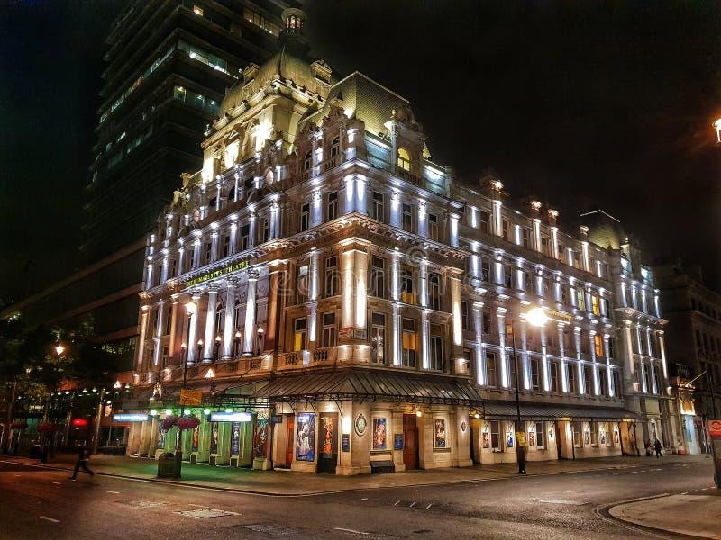 Ее театр ` s высочества в Лондоне стоковые фотографии rf