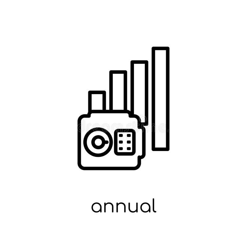 Ежегодный соответствующий значок тарифа (AER) от ежегодного соответствующего тарифа (a иллюстрация штока