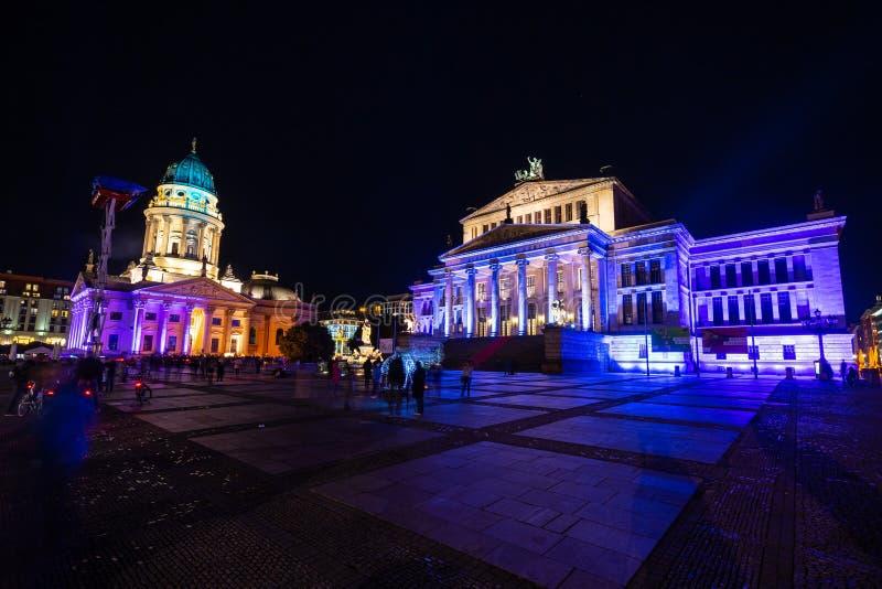 Ежегодный фестиваль огней 2018 beriberi Германия стоковая фотография rf