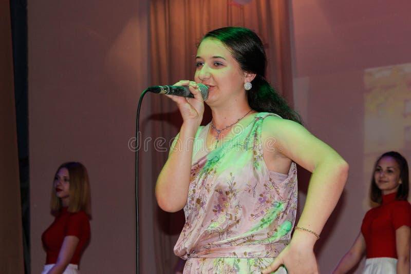 Ежегодный концерт дилетанта в зоне Gomel стоковые изображения rf