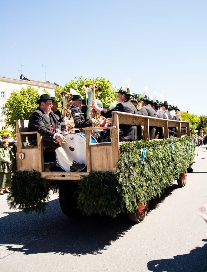 Ежегодный парад ` s StGeorge стоковое изображение