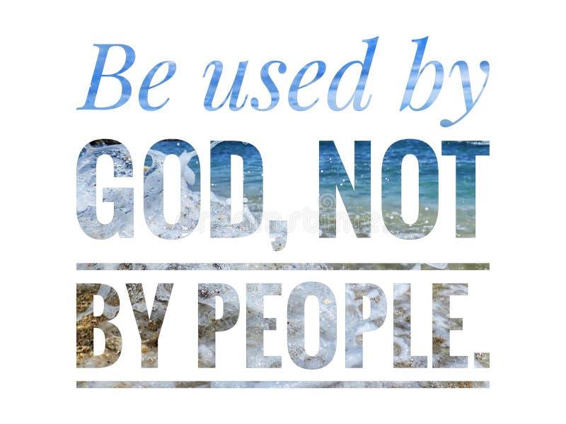 Ежедневное слово стиха библии для поощрения, мира и лечения в течении сегодня стоковые изображения