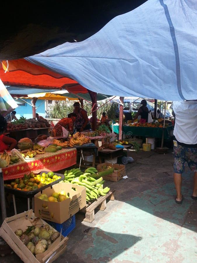 Ежедневный рынок стоковое изображение