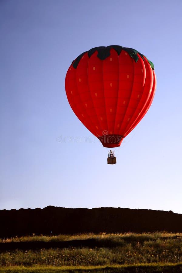 езда крупного плана воздушного шара горячая стоковые фото