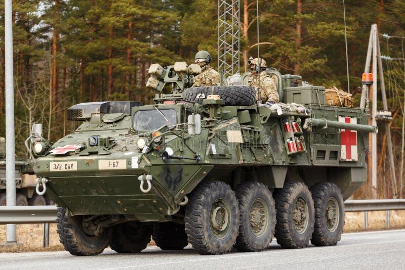Езда драгуна армии США стоковые фотографии rf