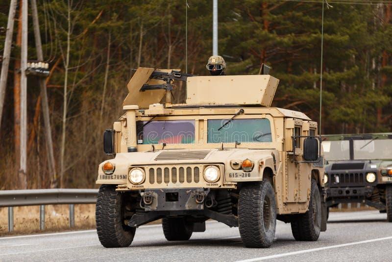 Езда драгуна армии США стоковые фото
