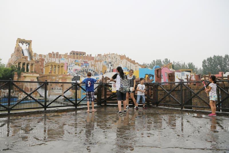 Езды воды в счастливой долине Пекине стоковое изображение rf