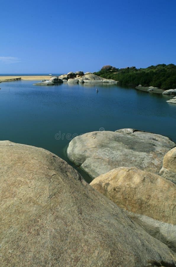 Ейль Nationalpark в южном Шри-Ланка стоковое изображение