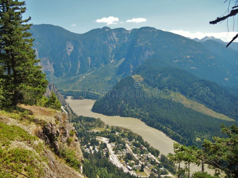 Ейль, Британская Колумбия, Канада стоковое изображение rf