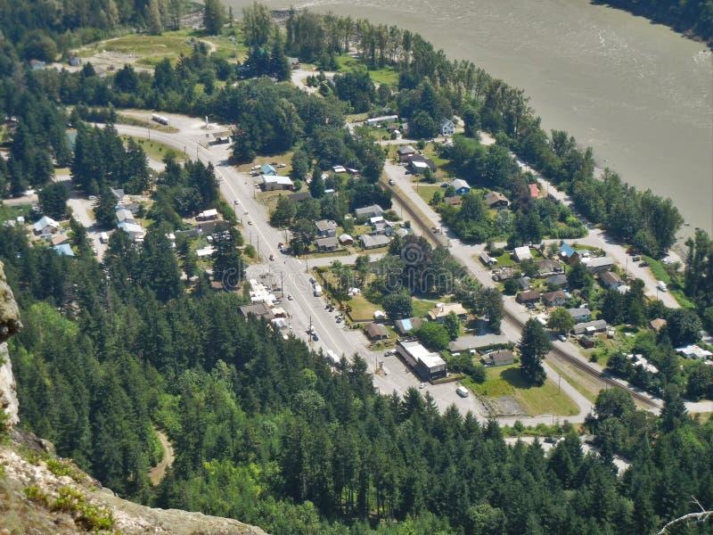 Ейль, Британская Колумбия, Канада стоковое изображение