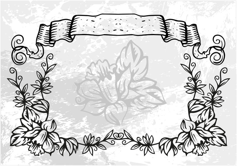 декоративная картина рамки бесплатная иллюстрация