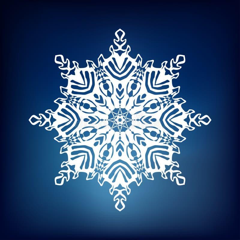 декоративная снежинка стоковые фотографии rf