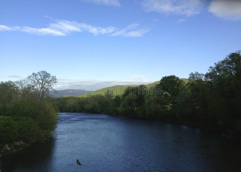 ленивое река стоковая фотография