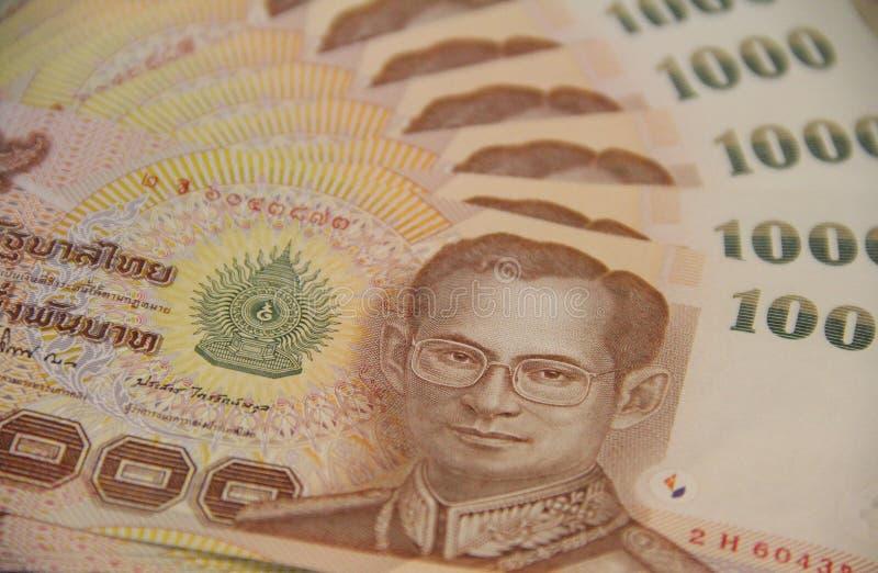 деньги тайские стоковые изображения