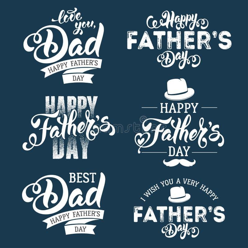 день будет отцом счастливого бесплатная иллюстрация