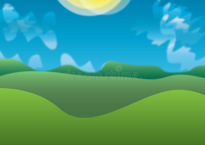 день солнечный стоковое фото rf