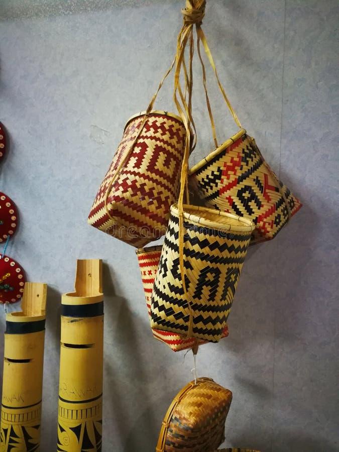 день фестиваля gawai украшения стоковое фото rf
