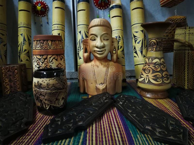 день фестиваля gawai украшения стоковое изображение rf