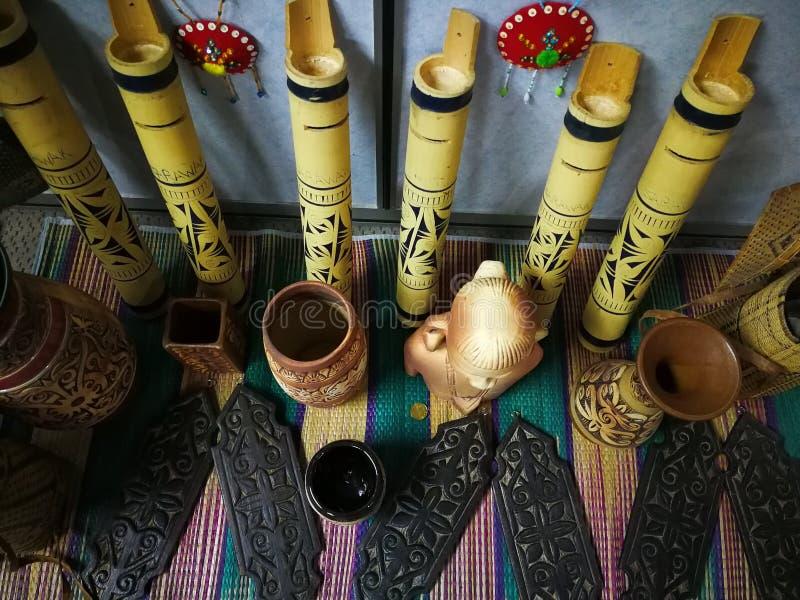 день фестиваля gawai украшения стоковое фото
