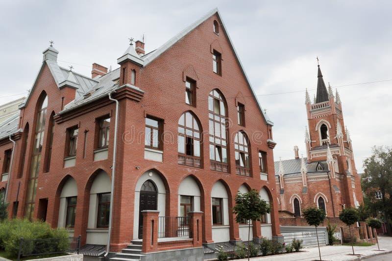 Епархия Харькова-Zaporizhzhya римско-католической церков стоковое изображение