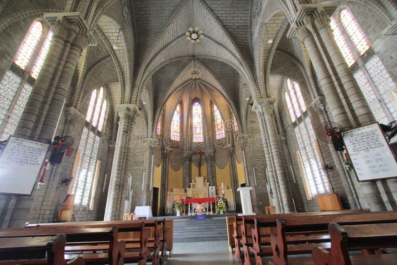 Епархия Nha Trang римско-католическая стоковое изображение rf