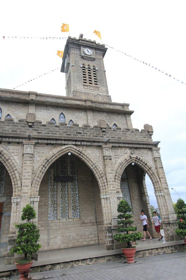 Епархия Nha Trang римско-католическая стоковые фотографии rf