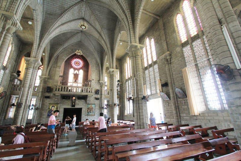 Епархия Nha Trang римско-католическая стоковая фотография rf