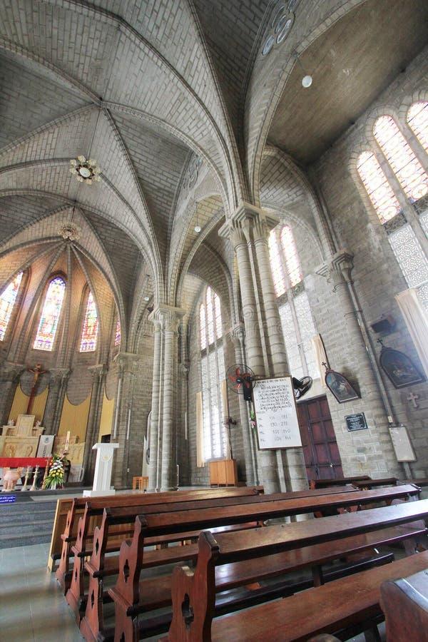 Епархия Nha Trang римско-католическая стоковые изображения rf