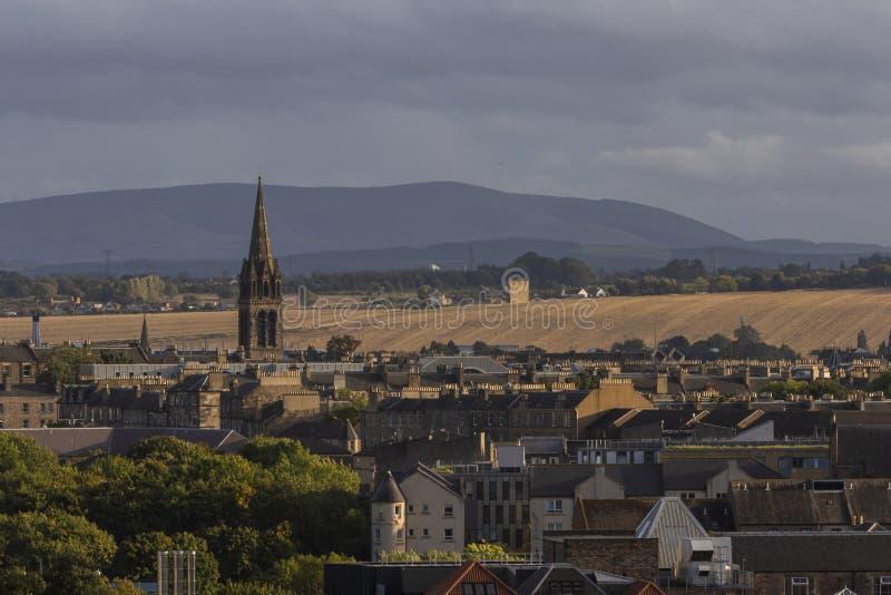 Епископальная церковь Эдинбург St Peters шотландская стоковые изображения