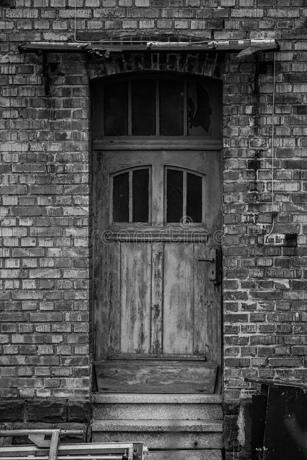 деревянное двери нутряное стоковые фото