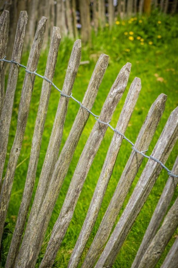 деревянное загородки старое стоковое изображение rf