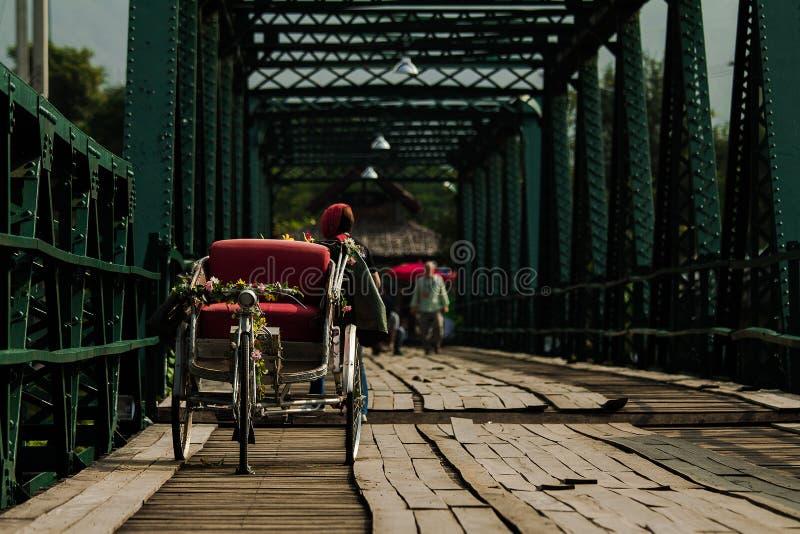 деревянное моста старое стоковые фото