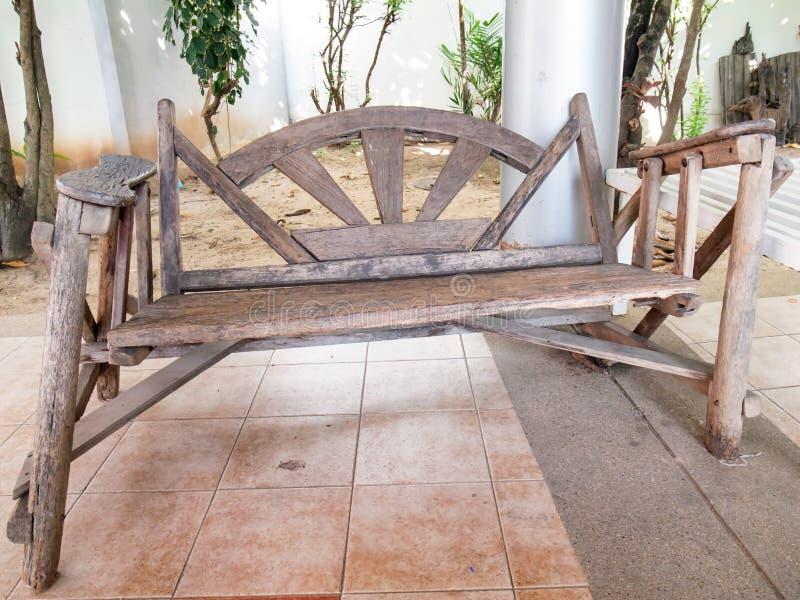 деревянное стула handmade стоковые изображения rf