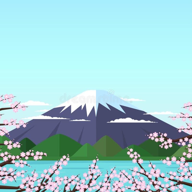 держатель fuji иллюстрация штока