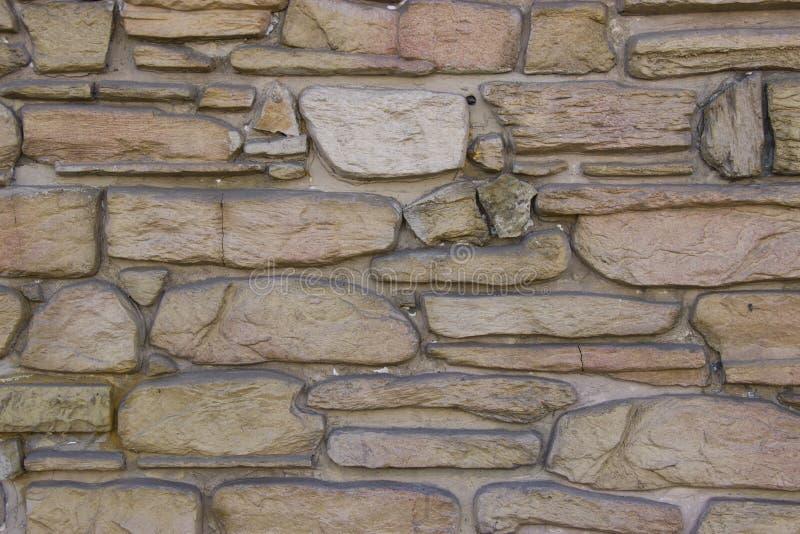Естественная каменная стена стоковое фото